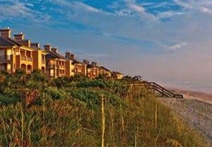 Orchid Island Condominiums on the beach