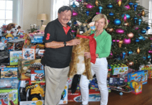 Orchid Island Members Donate Toys