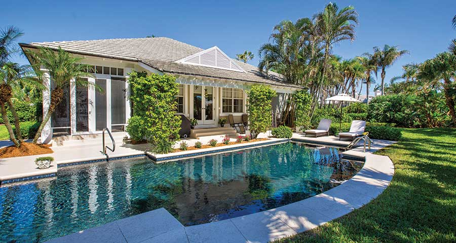 Orchid Island Pool Home