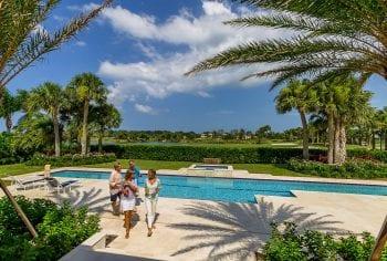 Orchid Island Backyard Pool