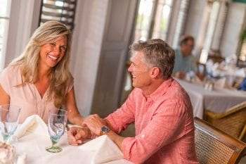 Orchid Island Couple Dining