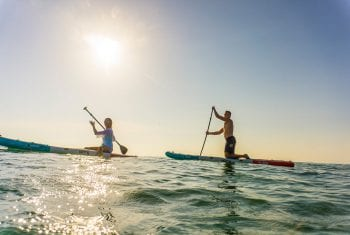Orchid Island Paddle Boarding