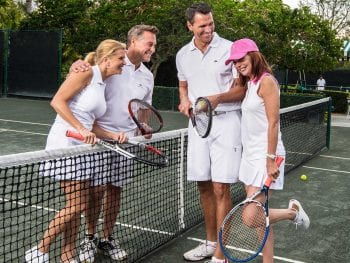 Tennis at Orchid Island