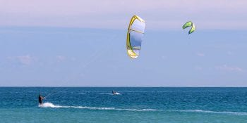 Windsurfing at Orchid Island Beach