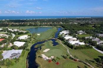 Orchid Island Golf Course Estate Homes