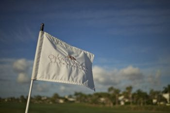 Orchid Island Golf Flag