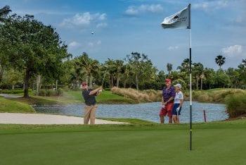 Orchid Island Golf Club bunker shot