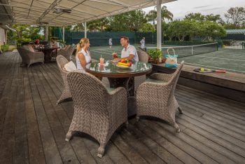 Lunch at Orchid Island Tennis Club