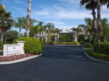 Entrance of the Orchid Island Golf Clubhouse