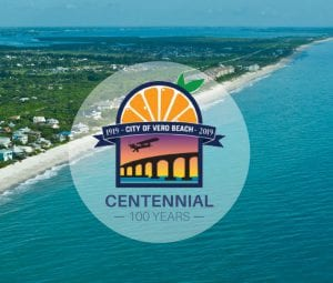 Vero Beach Centennial logo