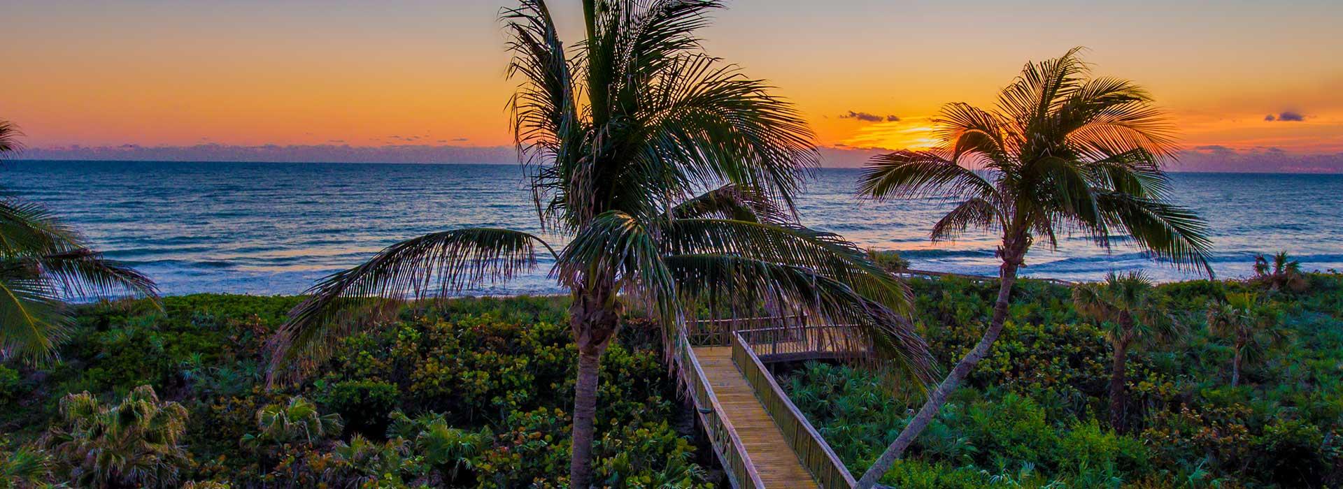 Orchid Island Sunset Beach Walk