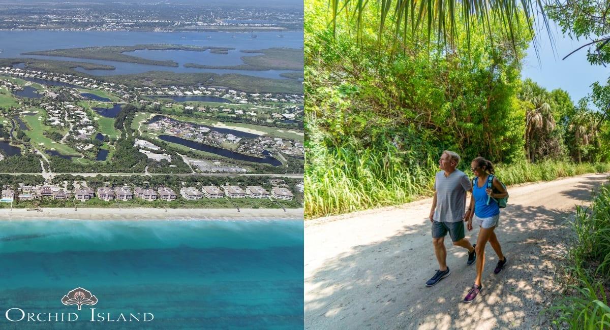 Residents of Orchid Island Golf & Beach club enjoy the Historic Jungle Trail