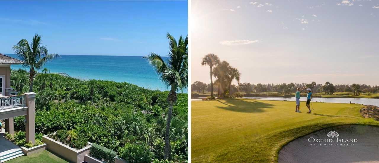 Golf Club or Beach Club