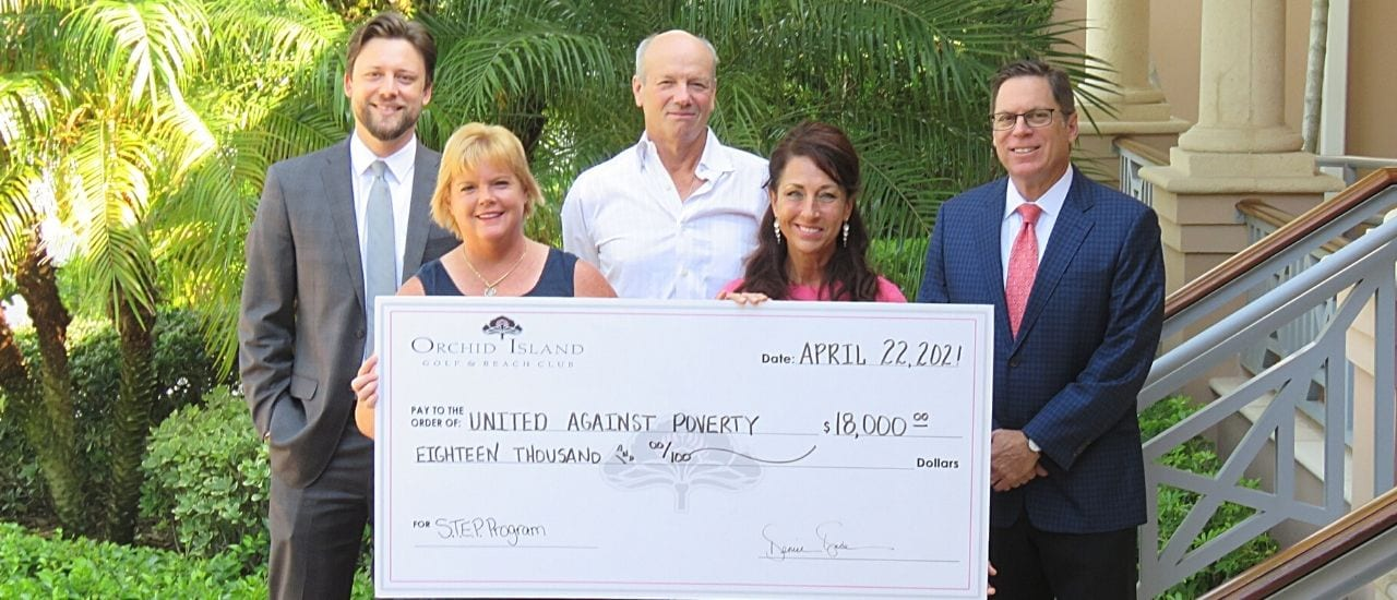 orchid island raises funds for united against poverty irc