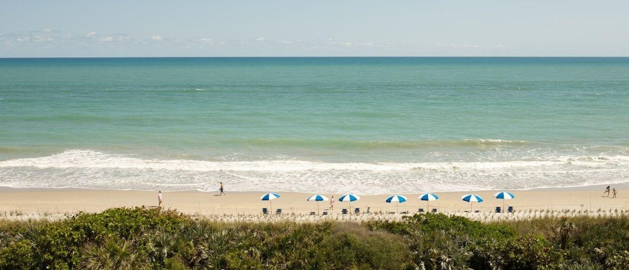 Orchid Island Beach Shoreline on the Treasure Coast