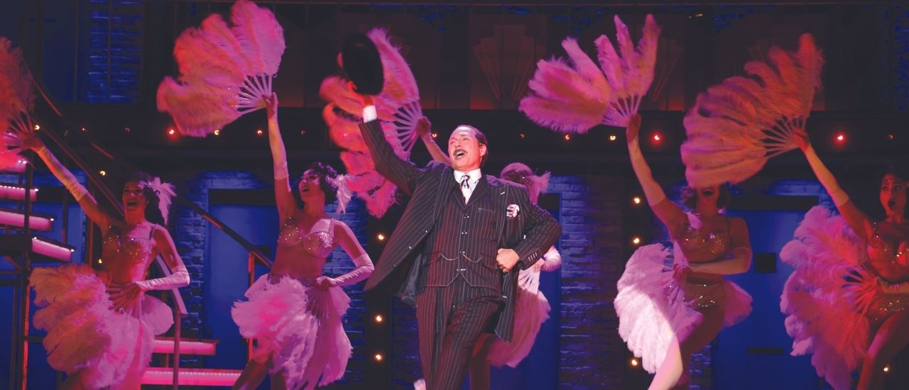 Actor in Chicago Show at Riverside Theatre